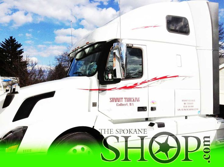 Volvo Semi Truck The Spokane Shop Window Tinting Clear Bra