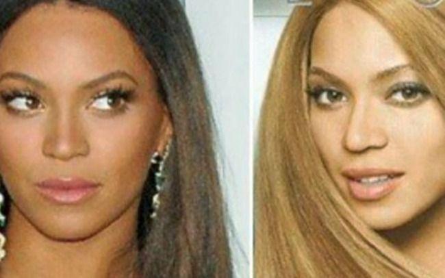 Dark Skin vs Light Skin Meme The Queen B more tan