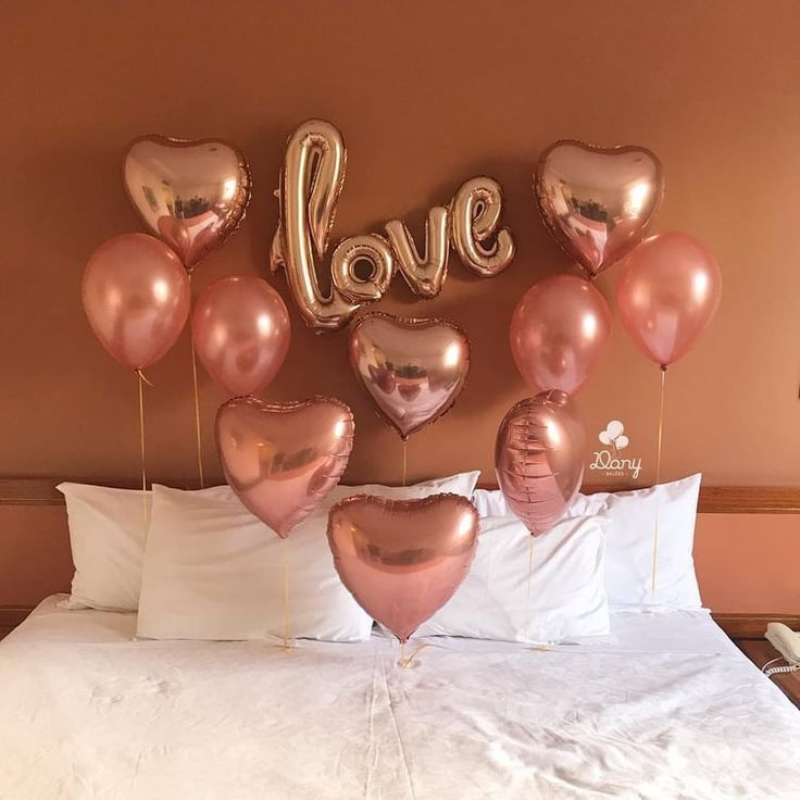 Love Balloons For Valentine S Day Romantic Dinner Decoration Birthday Room Decorations Anniversary Decorations