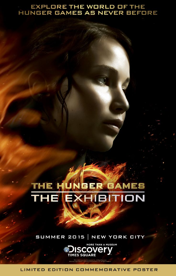 The Hunger Games: The Exhibition, Exploration of the Books and Films at Discovery Times Square
