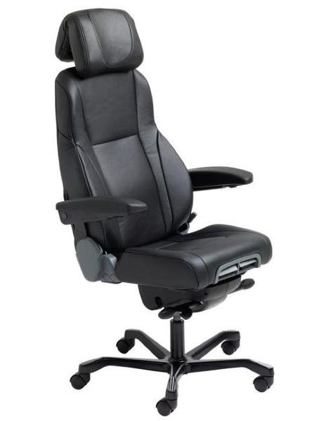 The new and improved KAB Director (II) has now evolved to meet the latest needs of today's modern workplaces. It now incorporates new features and an entirely new design not previously seen in the earlier model or any other KAB 24/7 Office Chair before #seated #KAB #controller #office seated.com.au