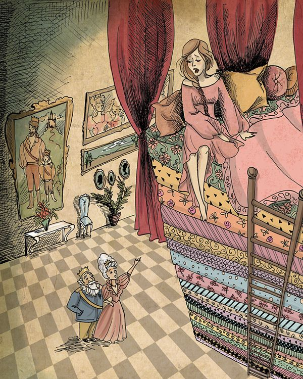 The Princess and The Pea by Biljana Kroll