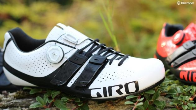 Giro Prolight Techlace and Factor Tech Lace