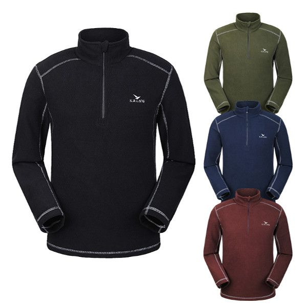 Sale 17% (26.98$) - Fashion Outdoor Ski-wear Pullover Casual Warm Bladder Polar Fleece Sweater