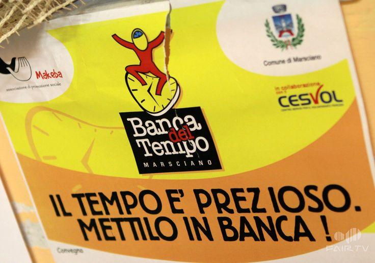 Banca del Tempo di Marsciano (PG), Umbria, Italy. Il manifesto.