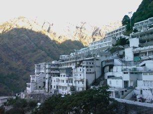 spectacular view of #VaishnoDevi Temple