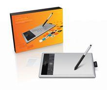 das Bamboo Tablet hilft mir beim skizzieren und zeichnen auf dem Rechner