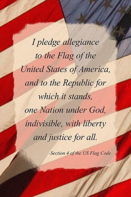 allegiance essay god pledge should taken Regrettably, a portion of the pledge of allegiance that was in that feature  its  just a pledge and i would never pledge to a god or take an oath.