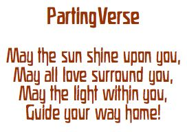 parting verse
