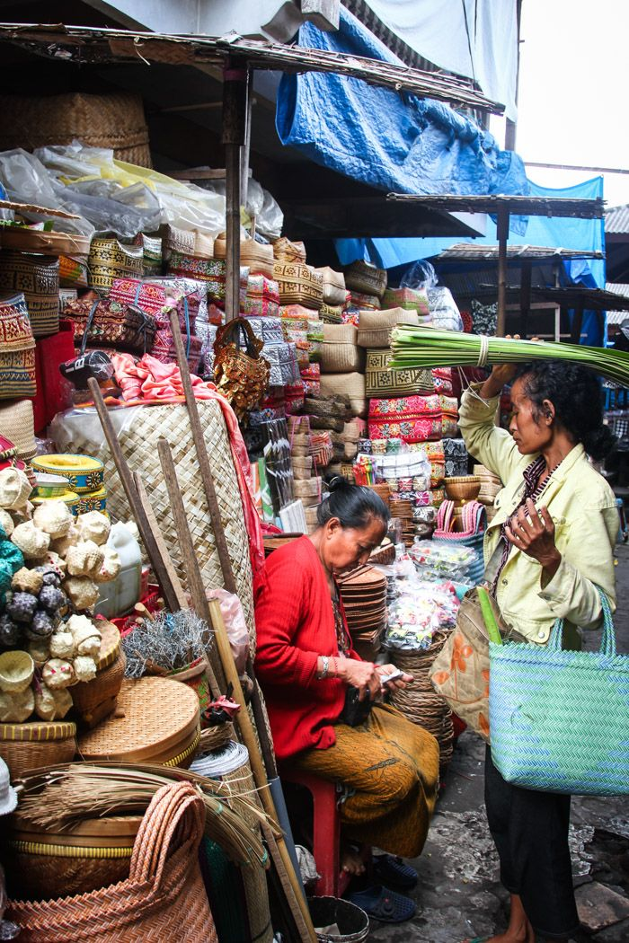 Markets of Ubud - Hither & Thither