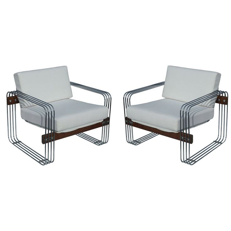 Awesome Heinz Meier Vintage Heinz Meier Stendig Hausmann Lounge Chairs