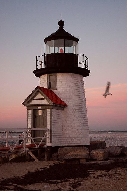 Nantucket Lighthouse, Massachusetts • by G. Rodon Photography & Digital Design, via Flickr