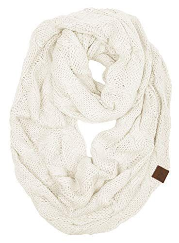 cb2dc1391 New Funky Junque๏ฟฝs C.C Beanies Matching Ribbed Winter Warm Cable Knit  Infinity Scarf. Women Scarves [$14.99 - 29.99]alltrendytop