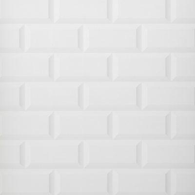 Papel de parede azulejo life metro branco leroy merlin vinyl pinteres - Smart tiles leroy merlin ...