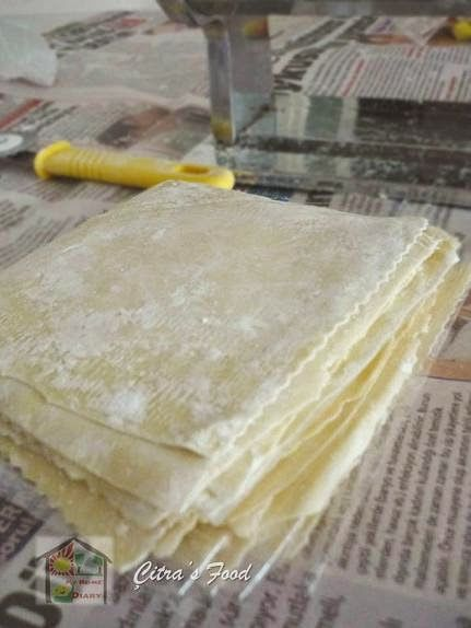 Citra's Home Diary: Homemade Wonton wrapper