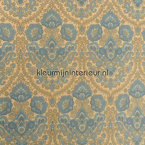 Blue charm vintage behang, van Kleurmijninterieur