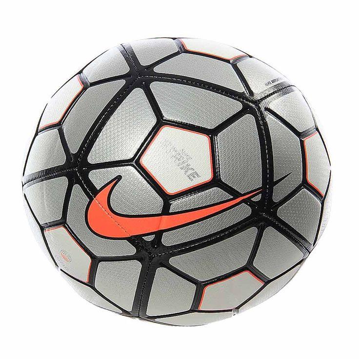 Juega como los profesionales con este balón Nike Strike. Diseñado con una carcasa de TPU, este balón de fútbol está diseñado con ranuras que le dan un aspecto más visible y te proporcionan una mejor calidad de toque.  La cámara de aire de caucho está reforzada para retener mejor el aire y mantener el esférico en óptima forma. Cuenta con colores visibles y detalles gráficos.  Juega tus partidos de fútbol y pon a prueba a tus rivales con este balón Nike Strike.