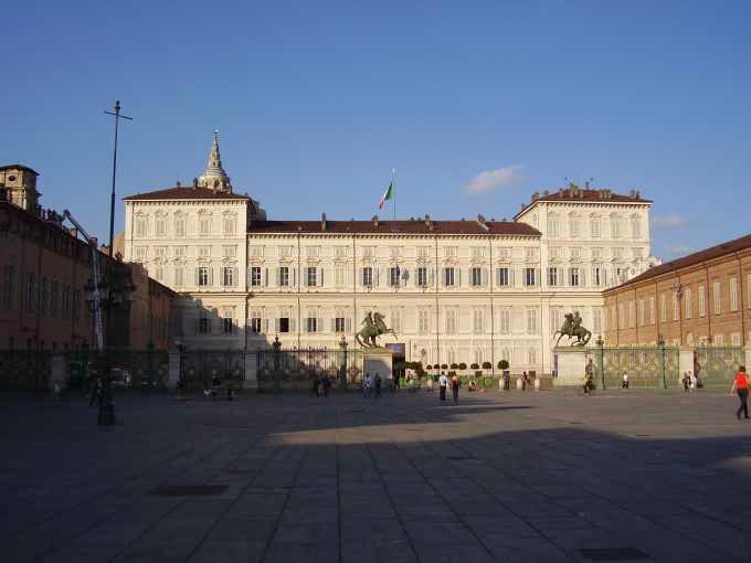 Palazzo Reale  piazza Castello