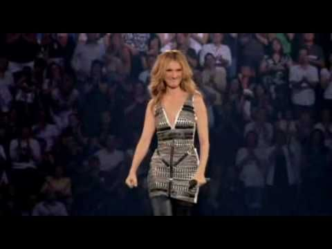 Celine Dion - L'amour Existe Encore (Taking Chances Tour French DVD)  Fave French song