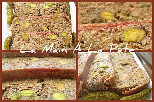 Terrine de foies de volailles aux pistaches -