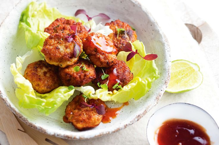 Everyone will love these feisty Thai chicken cakes.