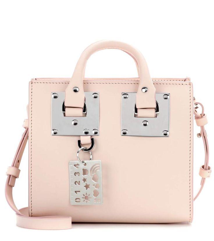SOPHIE HULME Box Albion leather shoulder bag. #sophiehulme #bags #shoulder bags #hand bags #leather #lining #