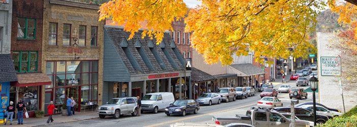 Boone, North Caroline My college town!