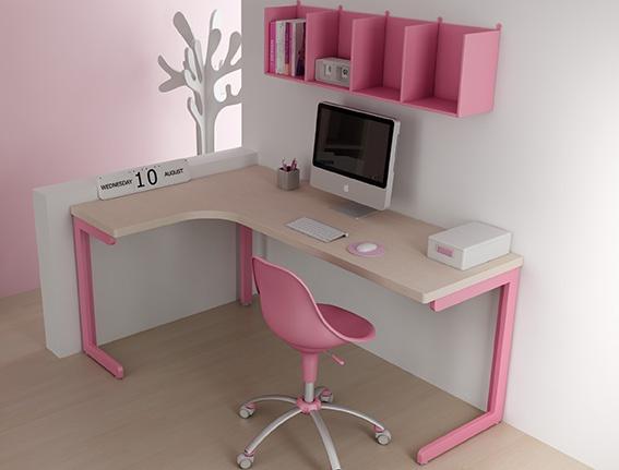 #Arredamento #Cameretta Moretti Compact: Catalogo Start Solutions 2013 >> LH31 #scrivania #mensole http://www.moretticompact.it/start.htm