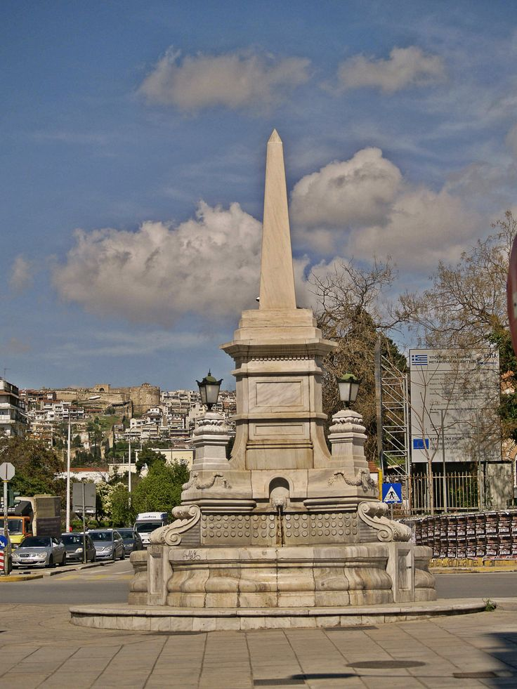 The Fountain was built in 1889 after the destruction of the Eastern Wall. (Walking Thessaloniki, Route 04 - Galerius)