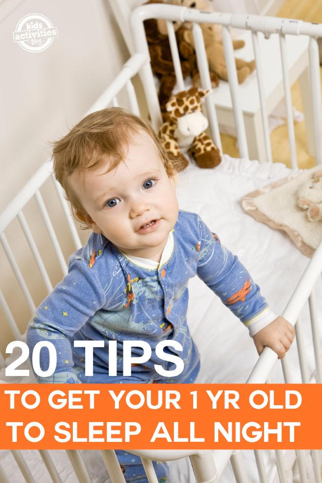 If your one year old won't sleep through the night – we are here to help!