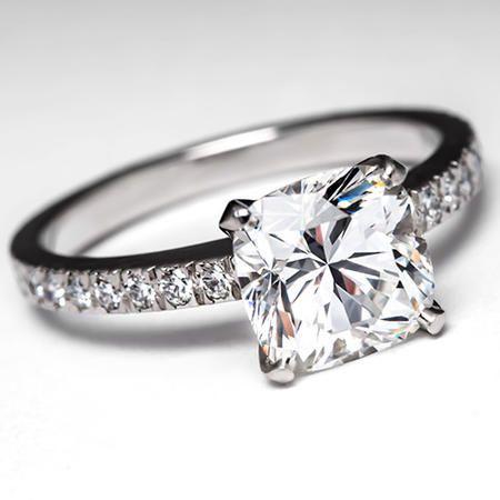 Tiffany Engagement Rings | Tiffany Novo Engagement Ring by EraGem