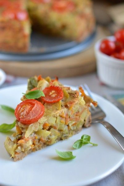This hearty Potato-Leek Pie fits right into a dark and cold autumn evening filling your home with comforting aroma. Great recipe for Halloween and Thanksgiving!
