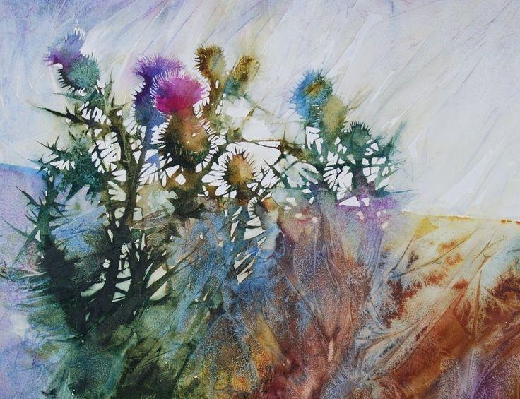 Anne Blockley - Thistles