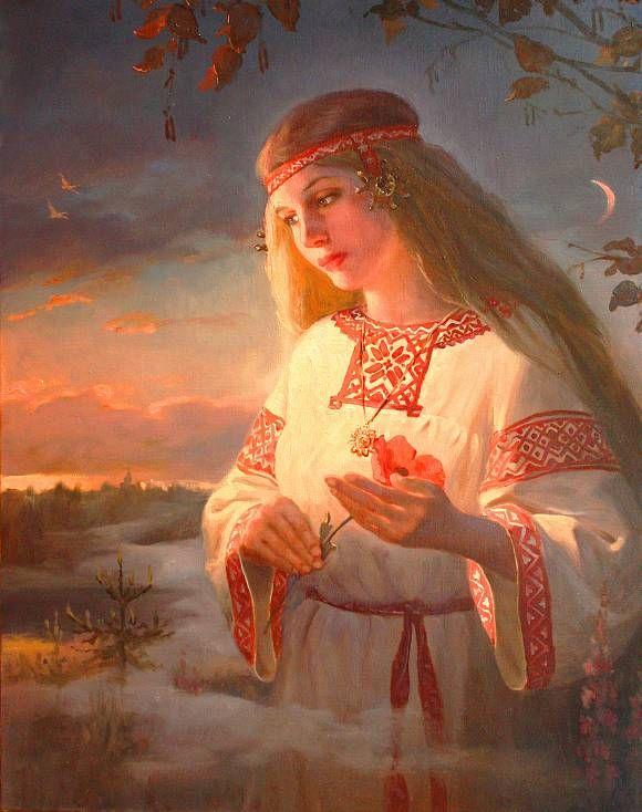 Заря - Заряница (древнерусская богиня утра и зари), автор Шишкин Андрей. Артклуб Gallerix