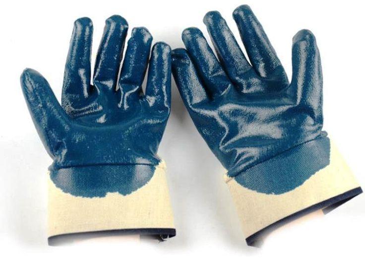 Veo - Power 14-114 Nitril Eldiven Mekanik risklere karşı üstün koruma Tam Kaplı Genel amaçlı kullanımlara uygun iş eldiveni 1 Paket: 12 Çift