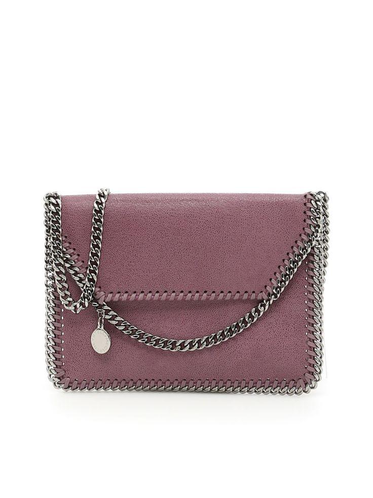 STELLA MCCARTNEY Falabella Crossbody Mini Bag. #stellamccartney #bags #shoulder bags #lining #crossbody #