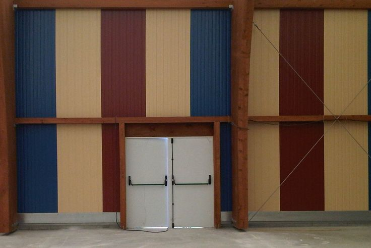 Puertas de emergencia accesorios para naves industriales desmontables accesorios puertas de - Puertas para naves industriales ...