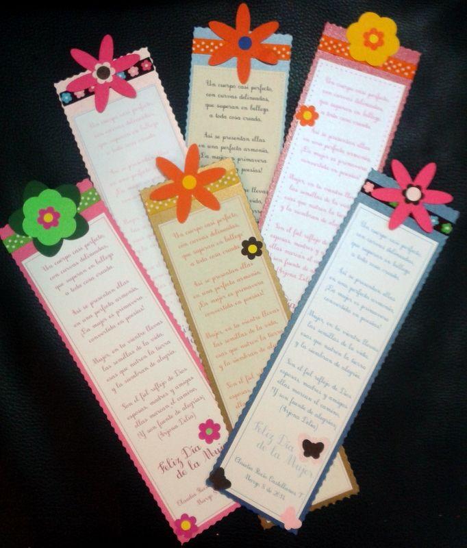 Bellos separadores de pagina, o marcadores de libros como tambien se les llama http://www.facebook.com/crpentinas