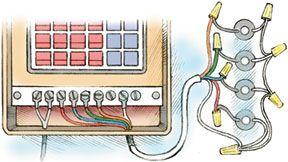 Installing & Wiring Sprinkler Valves   HomeTips