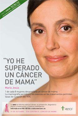 Cartel de la Campaña de Mama del año 2010