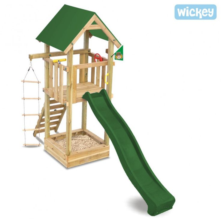 Wooden play tower WICKEY Harry`s Magic Tower plastic 460 Wicked