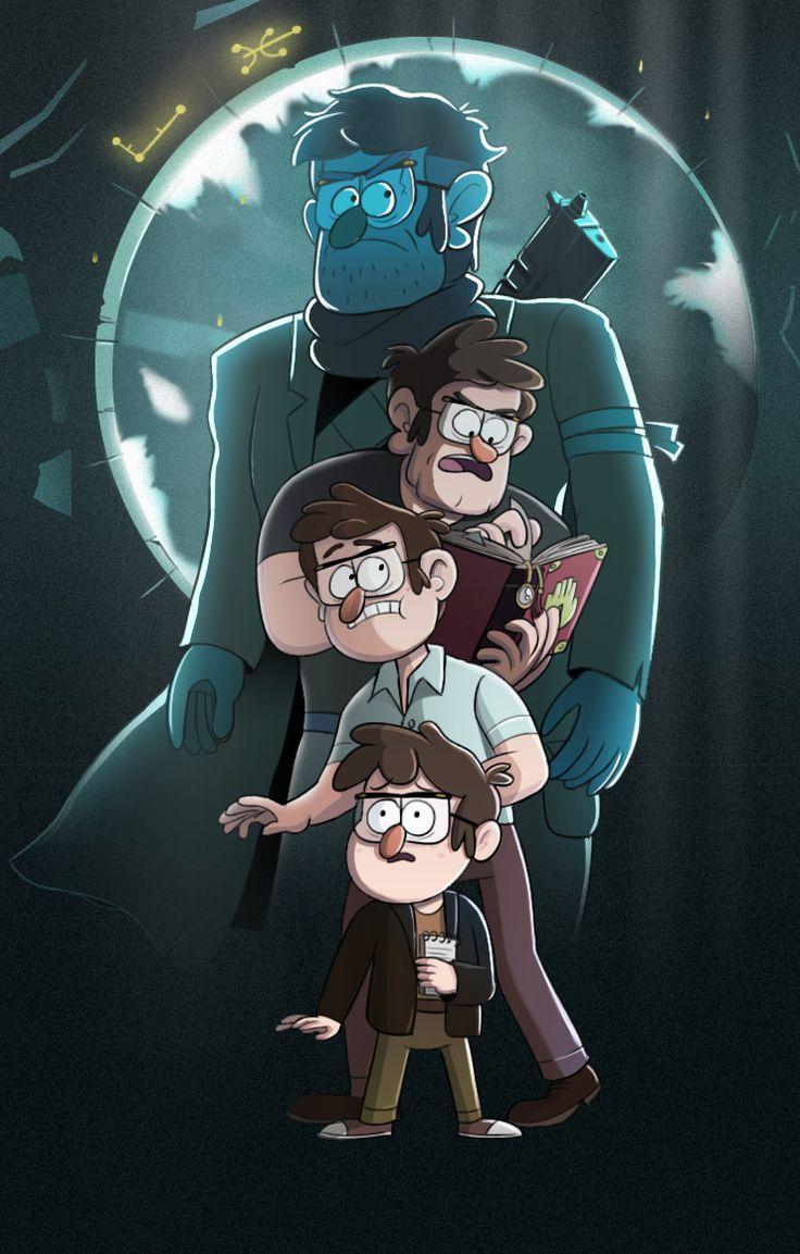 Gravity Falls Grunkle Stans Dark Secret Pt 2  Big Secrets Revealed!