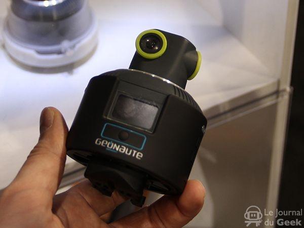 Geonaute 360 : caméra embarquée qui filme à 360°