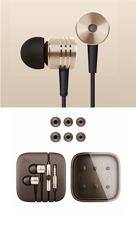 Truffol.com | Xiaomi Pistons earbuds | Beryllium Diaphragm, Machine-Milled Aluminum Design, $34.99