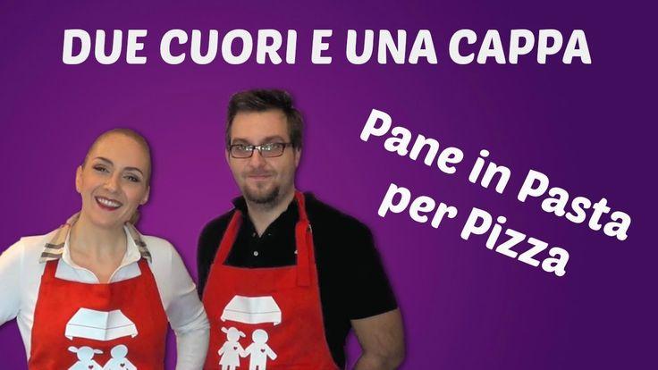 Pane in Pasta per Pizza con macchina del Pane (Ricetta base)- 2C+K