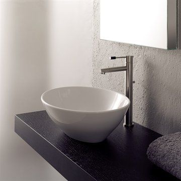 shop for the scarabeo by nameeks scarabeo hole white no hole ovo ceramic vessel bathroom sink and save