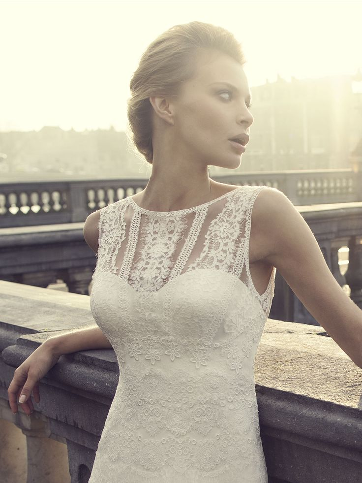 8 best Brautkleider images on Pinterest | Wedding dressses ...
