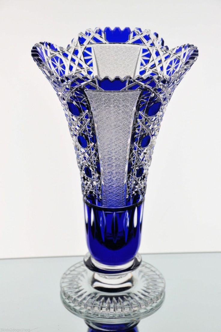 87 Best Crystal Glass Images On Pinterest Cobalt Blue Cobalt