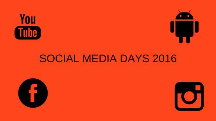 #somed2016 Alt fra Social Media Days 2016