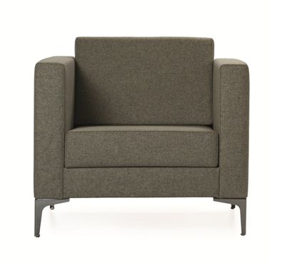 The Cara Lounge Range features highly defined stitching detail and solid timber frames in a classicly styled Square design #seated #lounge #couch #design